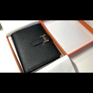 Hermès bearn wallet short